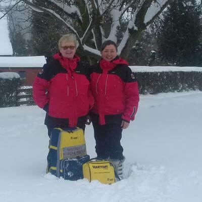 Heather and Janice - Providing local First Responder cover